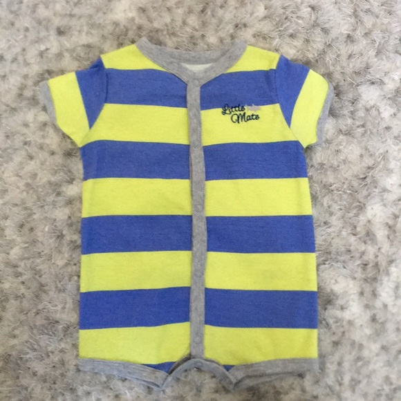 Carter's Other - 3 M Carter's Blue and Yellow bodysuit